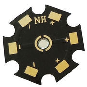 Aluminum Pcb For Led Light With Rohs Mark 1 6mm Base Material And Black Sol