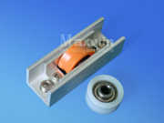 Aluminum Sliding Window Roller Wheel With Nylon Single