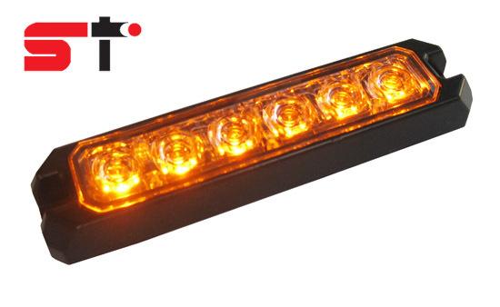 Amber 1w 6 Led Lighthead For Car