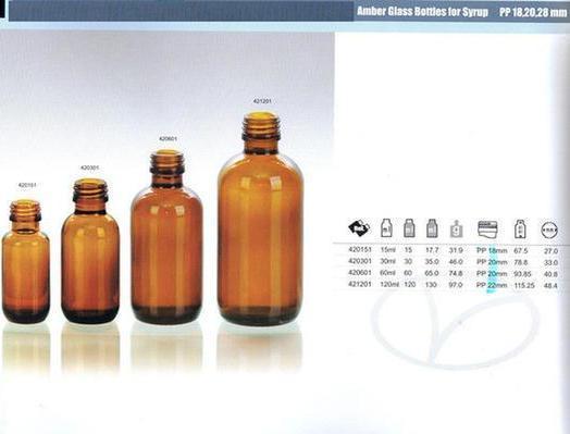 Amber Moulded Injection Vial For Antibiotics Medicine Bottles Wholesale