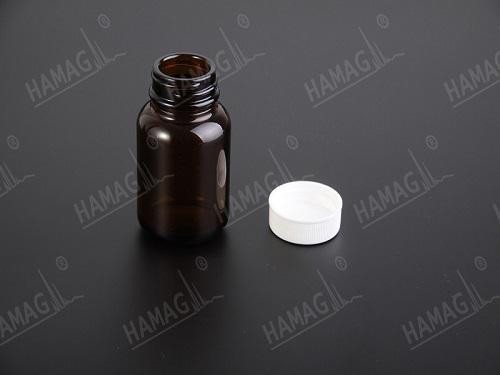 Amber Wide Open Bottle