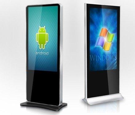 Android Indoor Floor Standing Kiosk