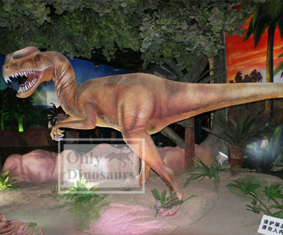 Animatronic Dinosaur Exhibit Dilophosaurus