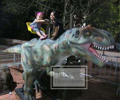 Animatronic Dinosaur For Ride