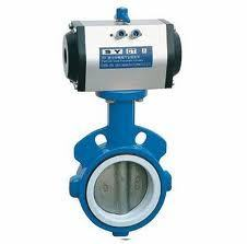 Ansi Pneumatic Wafer Butterfly Valves