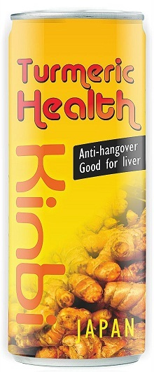 Anti Hangover Turmeric Drink Cans