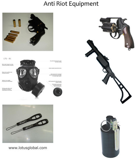 Anti Riot Equipments Made In Korea