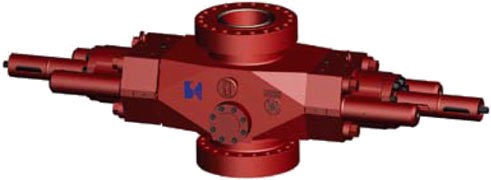 Api16a Sigle Ram Bop Blowout Preventer 5000psi
