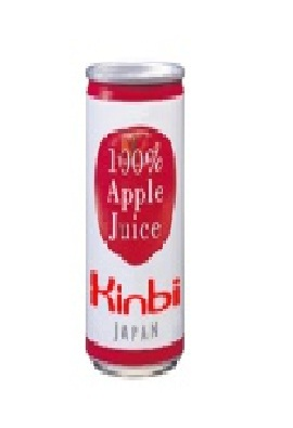 Apple Fruit Juice Cans