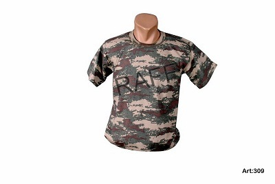 Army Textile T Shirts Apparels