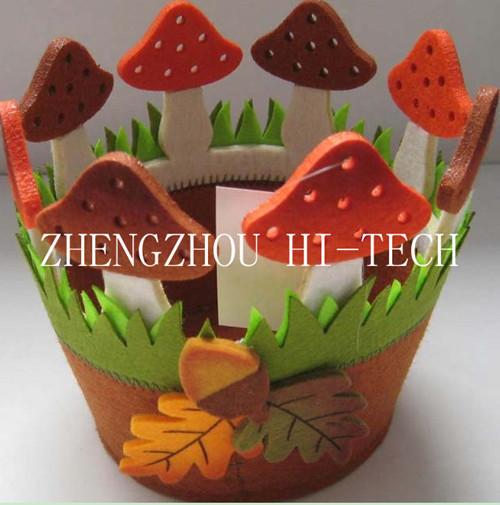 Art No 16 4136 Promotion Gift Autumn Felt Flowerpot Holder