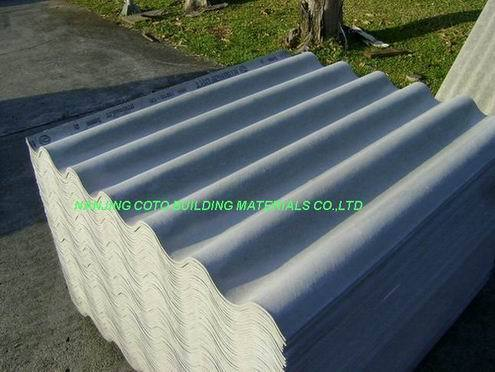 Asbestos Free Fiber Cement Tiles