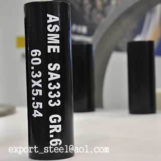 Asme Sa333 Gr 6 Seamless Steel Pipe