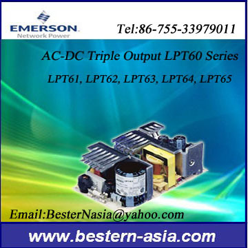 Astec Lpt65 Triple Output Ac Dc Power Supply For Industrial