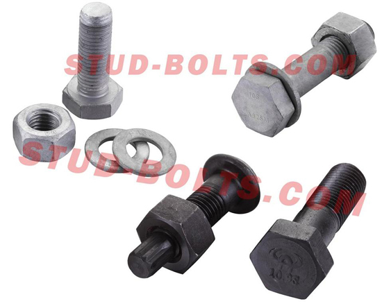 Astm A325 Steel Structure Bolt Set
