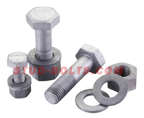 Astm A490 Alloy Steel Structure Bolt Set