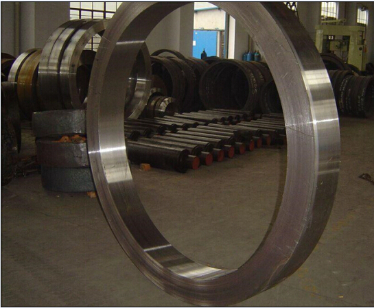 Astm Asme Din S30403 Large Size Forged Steel Ring For Slewing Bearing