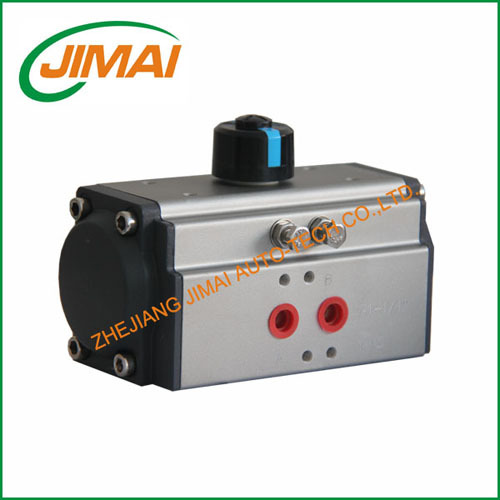 At Single Double Acting Pneumatic Rotary Valve Actuator