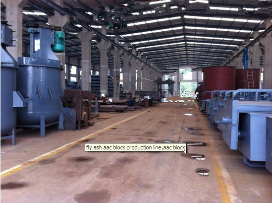Autoclaved Aerated Concrete Machinery Aac