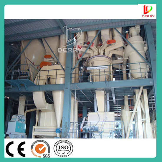 Automatic Animal 10t H Poultry Feed Pellet Machine
