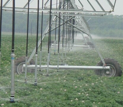 Automatic Farm Irrigation System Center Pivots
