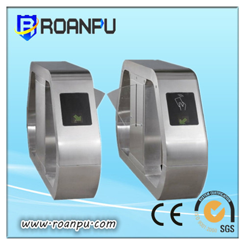 Automatic Flap Turnstile With A Pass Speed Of 40 Persons Min