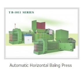 Automatic Horizontal Baling Press Tb1011