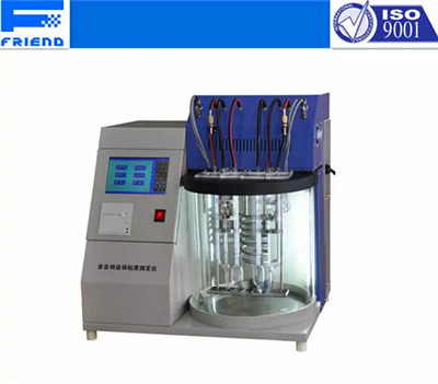 Automatic Kinematic Viscosity Tester For Petroleum Products