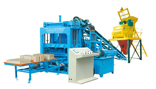 Automatic Production Line For Block Brick Making Multi Purpose Machinery Qt