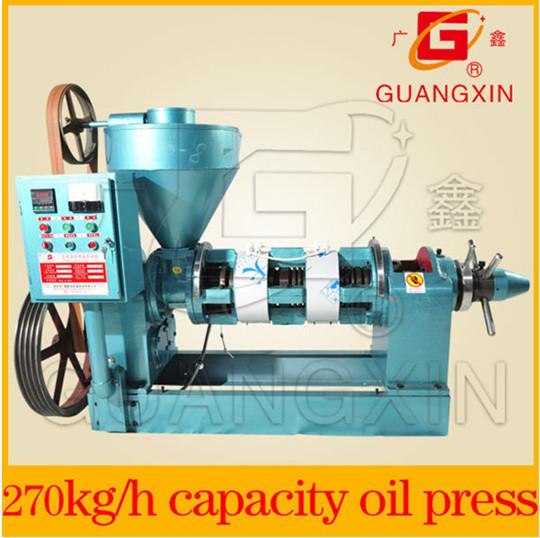 Automatic Temperature Control Oil Press Yzyx120 8wk