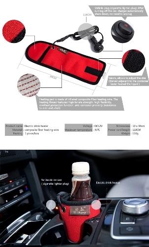 Automobile Drink Bottle Heater