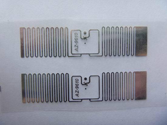 Az 9610 Rfid Dry Inlay Epc Gen2