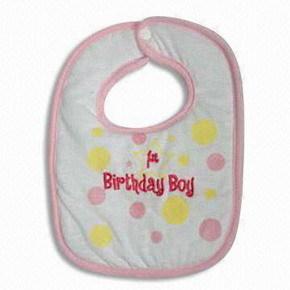 Baby Bib 100 Cotton Promotional Bibs