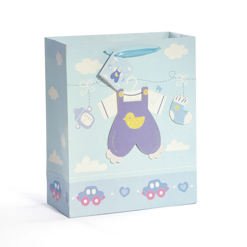 Baby Boy Suit Gift Bags