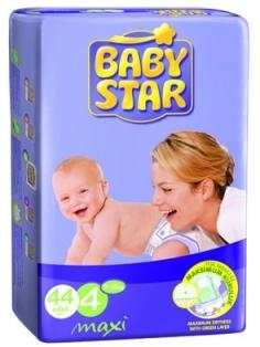 Baby Diaper Star