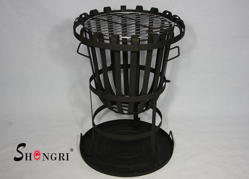 Backyard Fire Basket Avaiable