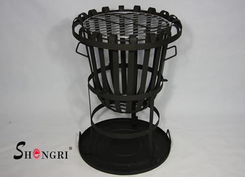 Backyard Fire Basket Avaiable