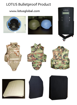 Ballistic Bullet Proof Helmet Shield