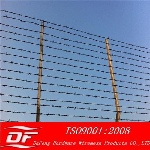 Barbed Wire Galvanized Pvc