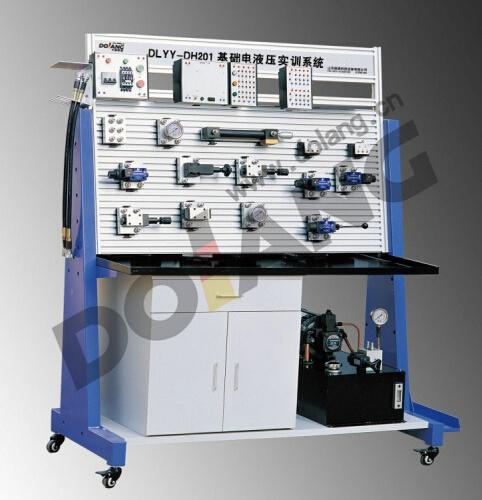 Basic Electro Hydraulic Training System Dlyy Dh201