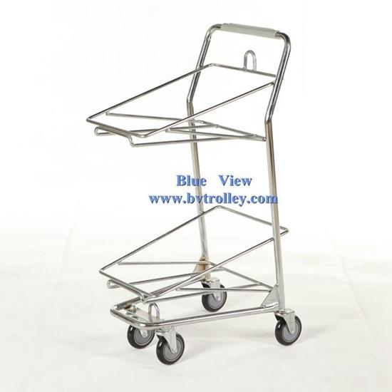 Basket Trolley Shopping Cart Grocery