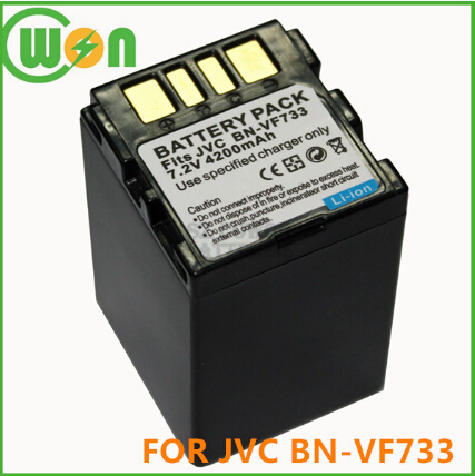 Battery Bn Vf733 Vf733u Vf707u For Jvc 7 4v 4200mah Camcorder