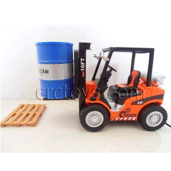 Battery Operated Line Control Toy Forklift Truck