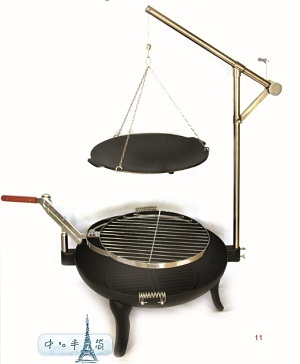 Bbq Grill Cast Iron Shengri Barbecue Fashion
