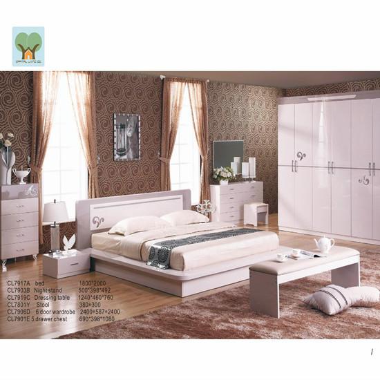 Bedroom Set Cl 791 Manufacture