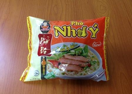Beef Flavour Instan Rice Noodles