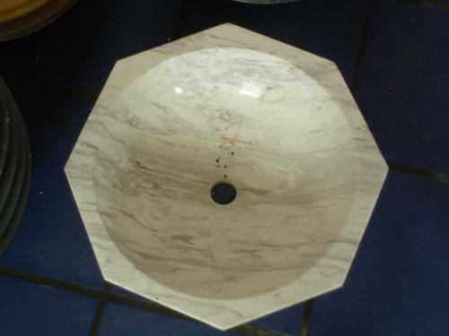 Beige Color Marble Sink