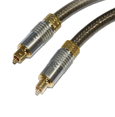 Best Pmma Material Toslink Digital Audio Cable With Gold Plated Head