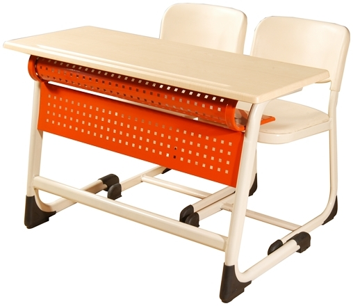 Best Selling School Desk Inci Double With Panel