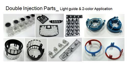 Bi Injection Over Molding Custom Medical Design Prototypes Mock Up